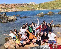 31 Marzo Nos fuimos de trekking por Malta Golden bay y Gran tuffieha (25)