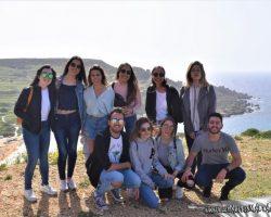 31 Marzo Nos fuimos de trekking por Malta Golden bay y Gran tuffieha (9)