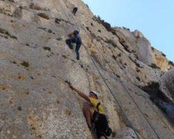 Agosto Curso escalada Malta (78)