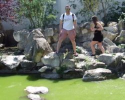 Erasmus desde Bari chinese garden santa lucija Abril 2013 (13)