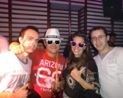 ABRIL SPANISH - SUNGLASSES AT NIGHT PARTY (17)